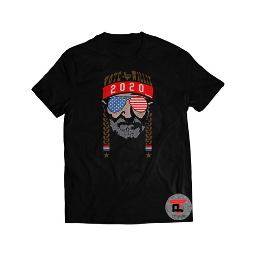 Vote For Willie Nelson 2020 Shirt