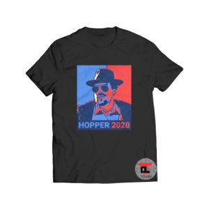 Jim Hopper 2020 Stranger Things Viral Fashion T-Shirt