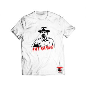 Fat Rambo Stranger Things 3 Viral Fashion T-Shirt