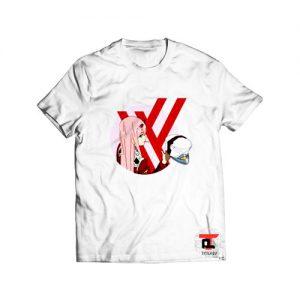 Zero Two from Darling in the Franxx Viral Fashion T-Shirt