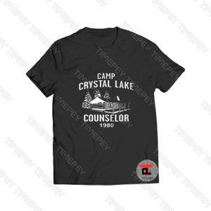 Camp Crystal Lake Counselor 1980 Viral Fashion T Shirt