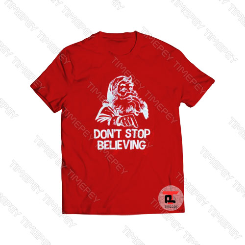 Christmas Don't Stop Believing Santa