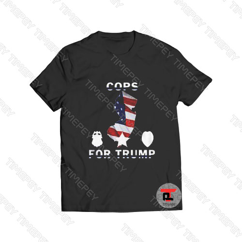 Day Cops For Trump Viral Fashion T Shirt