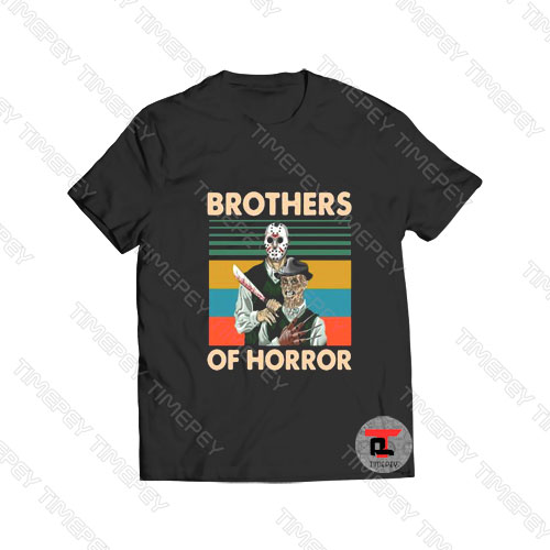 Jason Voorhees Brothers Of Horror Viral Fashion T Shirt