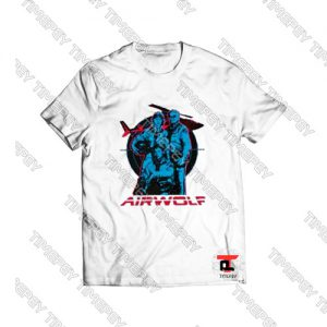Airwolf Graphic Viral Fashion T Shirt