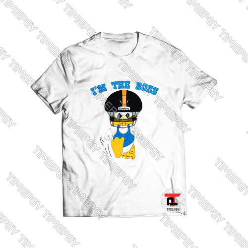 Duck Hodges I'm The Boss Steelers Viral Fashion T Shirt