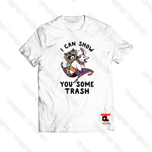 Racoon I can show you some trash