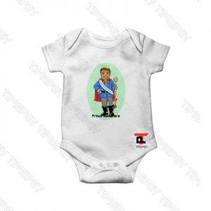 12 Month Prince Bakari African Baby Onesie