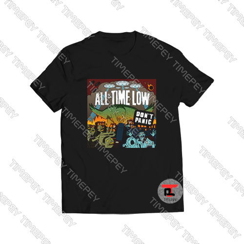 All-Time-Low-Don't-Panic-Shirt