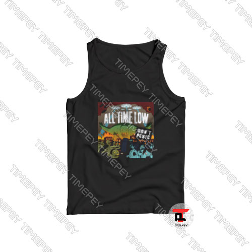 All-Time-Low-Don't-Panic-Tank-Top