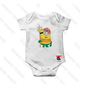 Aquaman Minion Baby Onesie