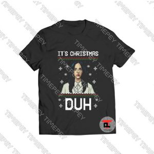 Billie eilish its christmas duh Viral Fashion T Shirt