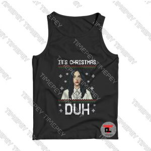 Billie eilish its christmas duh Tank Top