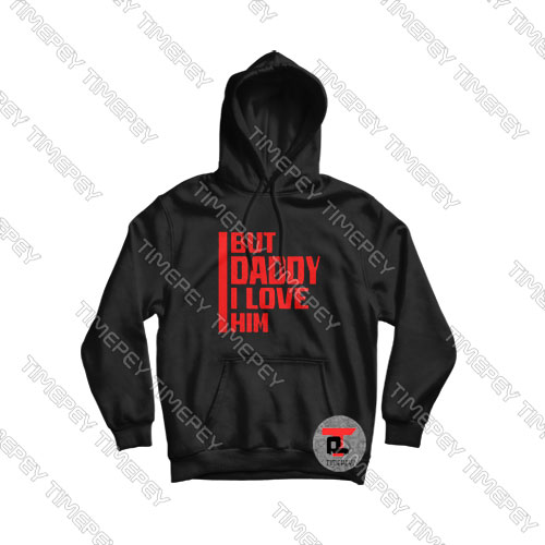 But-Daddy-I-Love-Him-Red-Logo-Hoodie