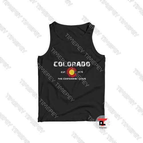 Colorado-The-Centennial-State-1876-Tank-Top