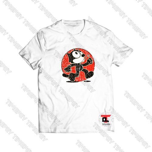 Felix-The-Cat-Keep-Walking-Vintage-Shirt