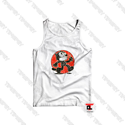 Felix-The-Cat-Keep-Walking-Vintage-Tank-Top