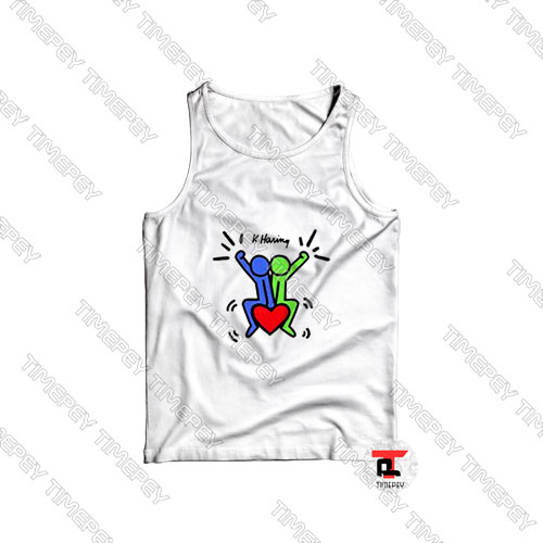 Keith Haring Love Each Other Tank Top