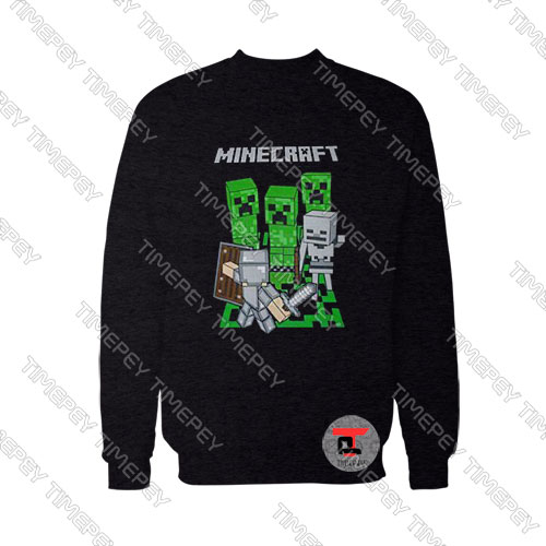 Minecraft-Adventure-Logo-Sweatshirt