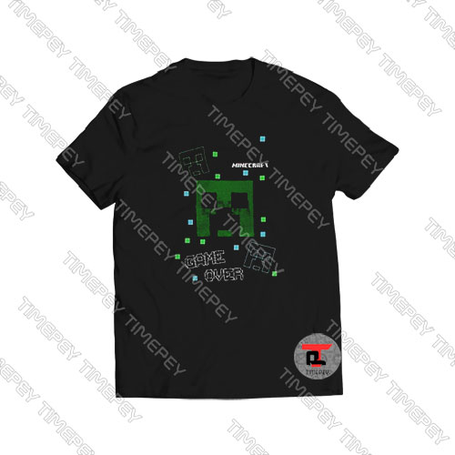 Minecraft-Creeper-Game-Over-Shirt