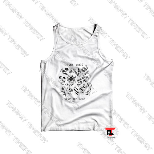 Plant-these-save-the-bees-Tank-Top