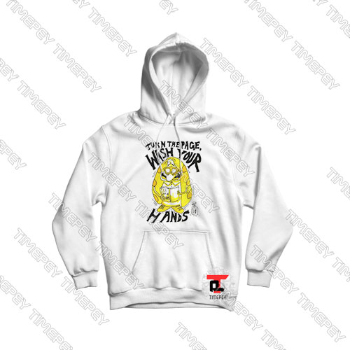 Turn-the-Page-Wash-Your-Hands-Cartoon-Art-Hoodie