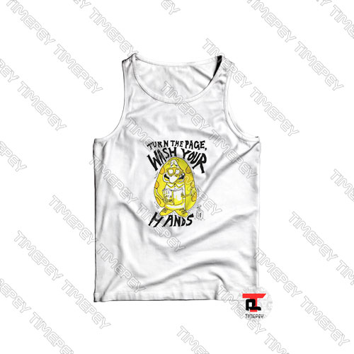 Turn-the-Page-Wash-Your-Hands-Cartoon-Art-Tank-Top