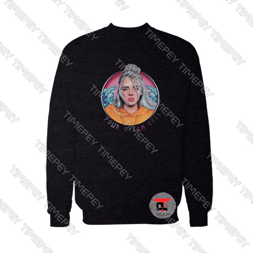 You-Ocean-Eyes-Billie-Eilish-Art-Photo-Sweatshirt