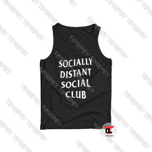 Buy Socially Distant Social Club Tank Top
