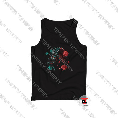 Darth Vader Rose Art Tank Top