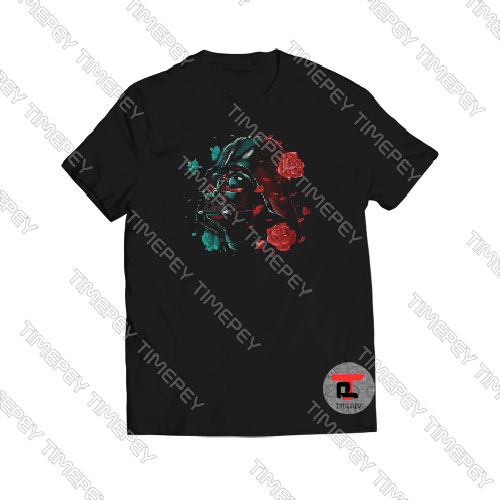 Darth Vader Rose Art Tshirt