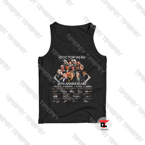 Doctor Who Anniversary Tank Top