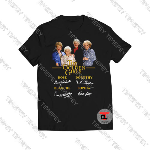 Golden Girls Signature T -Shirt