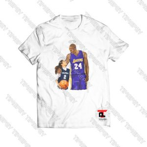 Kobe Bryant and Gigi Bryant NBA T-Shirt