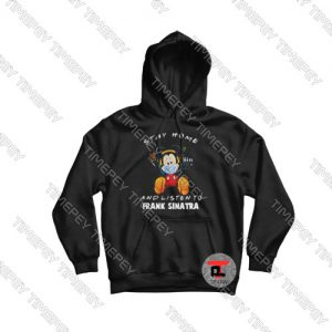 Mickey Mouse Stay Home Hoodie