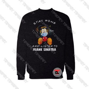 Mickey Mouse Stay Home Sweatshirt