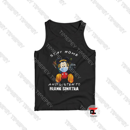 Mickey Mouse Stay Home Tank Top