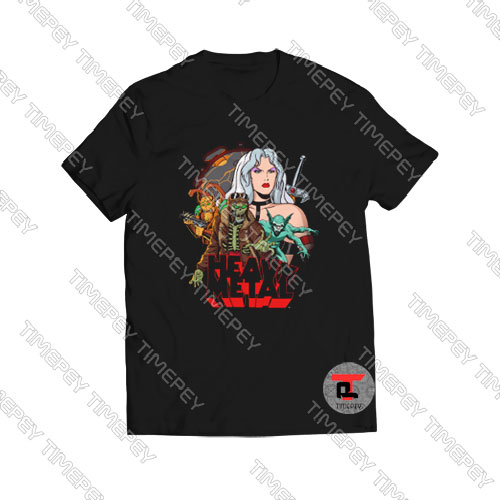 Heavy-Mental-Planet-T-Shirt-For-Women-and-Men-S-3XL