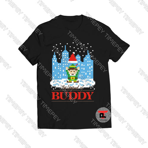 The-Legend-Of-Buddy-T-Shirt-Women-and-Men-S-3XL