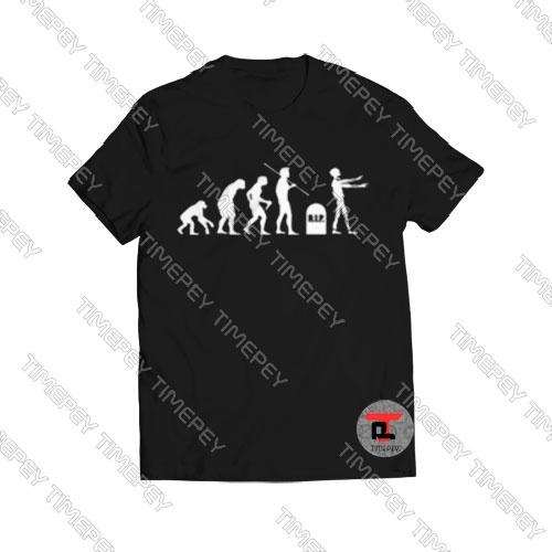 Zombie-Evolution-T-Shirt-For-Women-and-Men-S-3XL