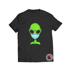 Alien Pro Face Mask T Shirt Viral Fashion S-3XL