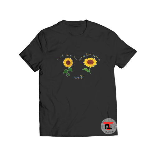 Ask Me To Make You Smile T Shirt Sunflower S-3XL