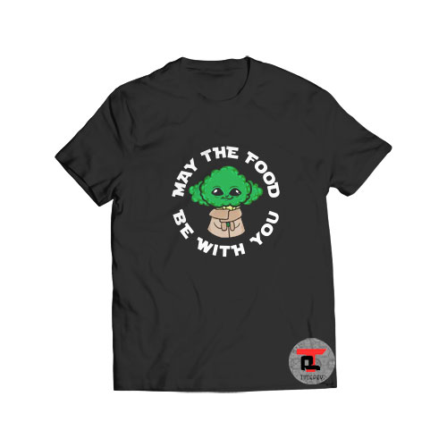 Broccoli Yoda T Shirt May The Food Be With You S-3XL