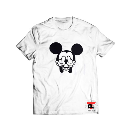 Mickey Mouse Fuck T Shirt Disney S-3XL