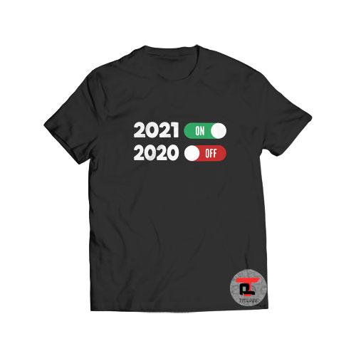 New Years Eve T Shirt Happy New Year 2021 S-3XL