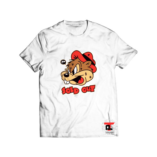 Sold Out Cartoon T Shirt Chip N Dale S-3XL