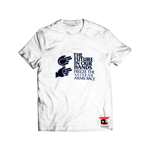 80's Freeze The Nuclear Arms Race T Shirt