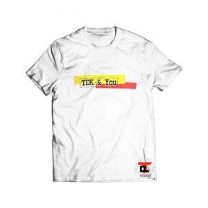 90's TDK Get Serious T Shirt