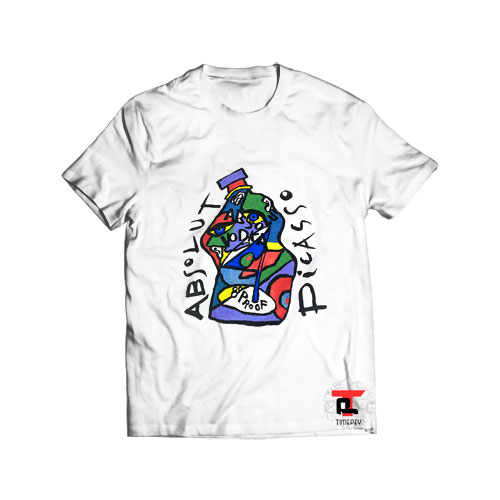 Mid 90's Picasso x Absolut Vodka T Shirt