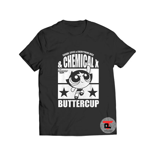 The Powerpuff Girls Chemical X Buttercup T Shirt